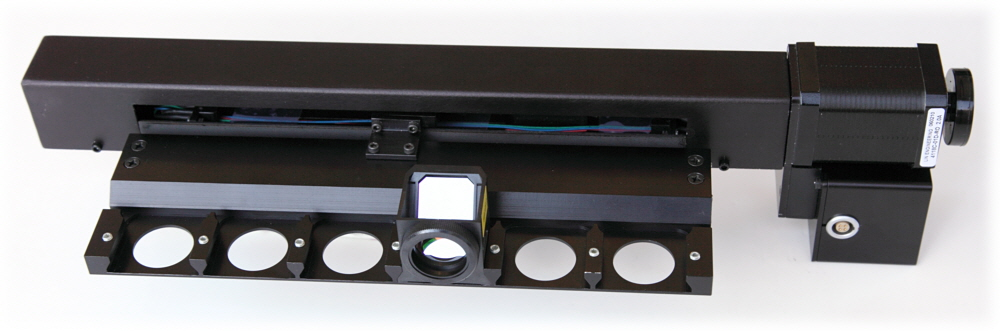 Filter Cube Slider with Integrated Controller